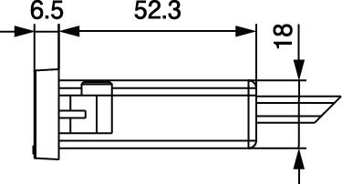 NC-1522USB2A寸法側面