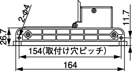NSC-5707USB2A取付棚下直付