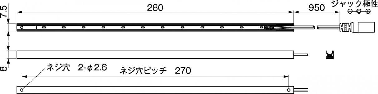 N-LED1228寸法