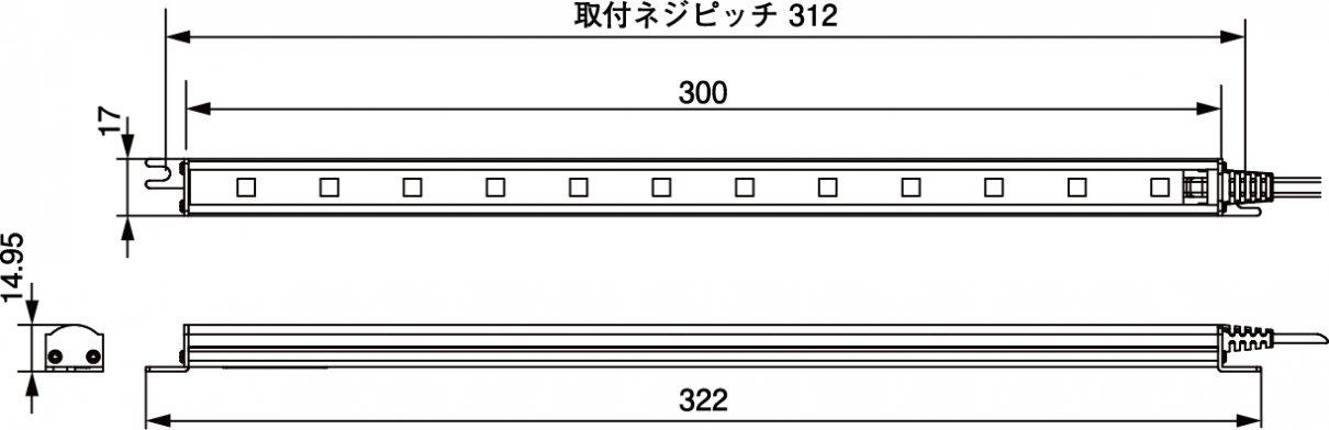 N-LED1331F寸法