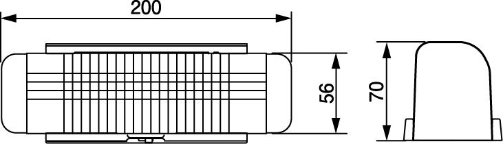 N-LED307NS寸法