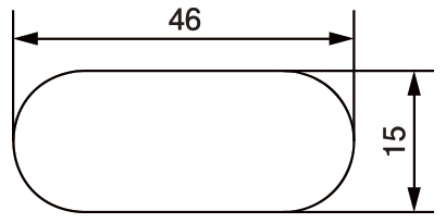 スライドコンセントS_取付穴参考寸法