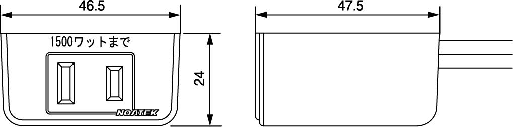 NC-1514寸法